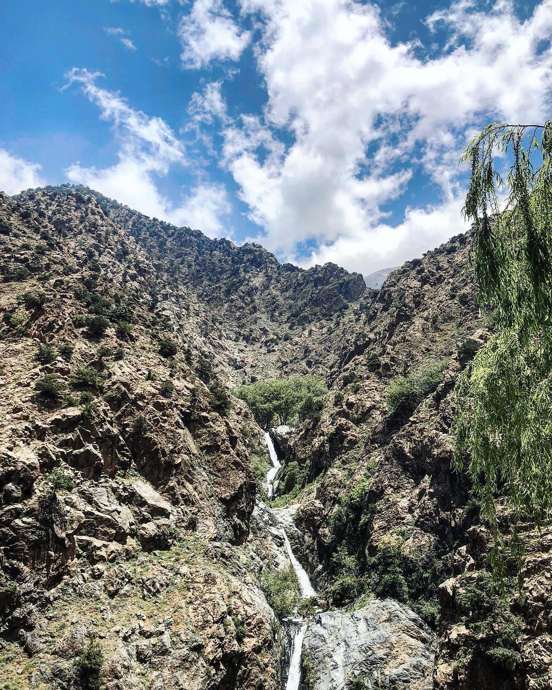 4 cascades de l'ourika