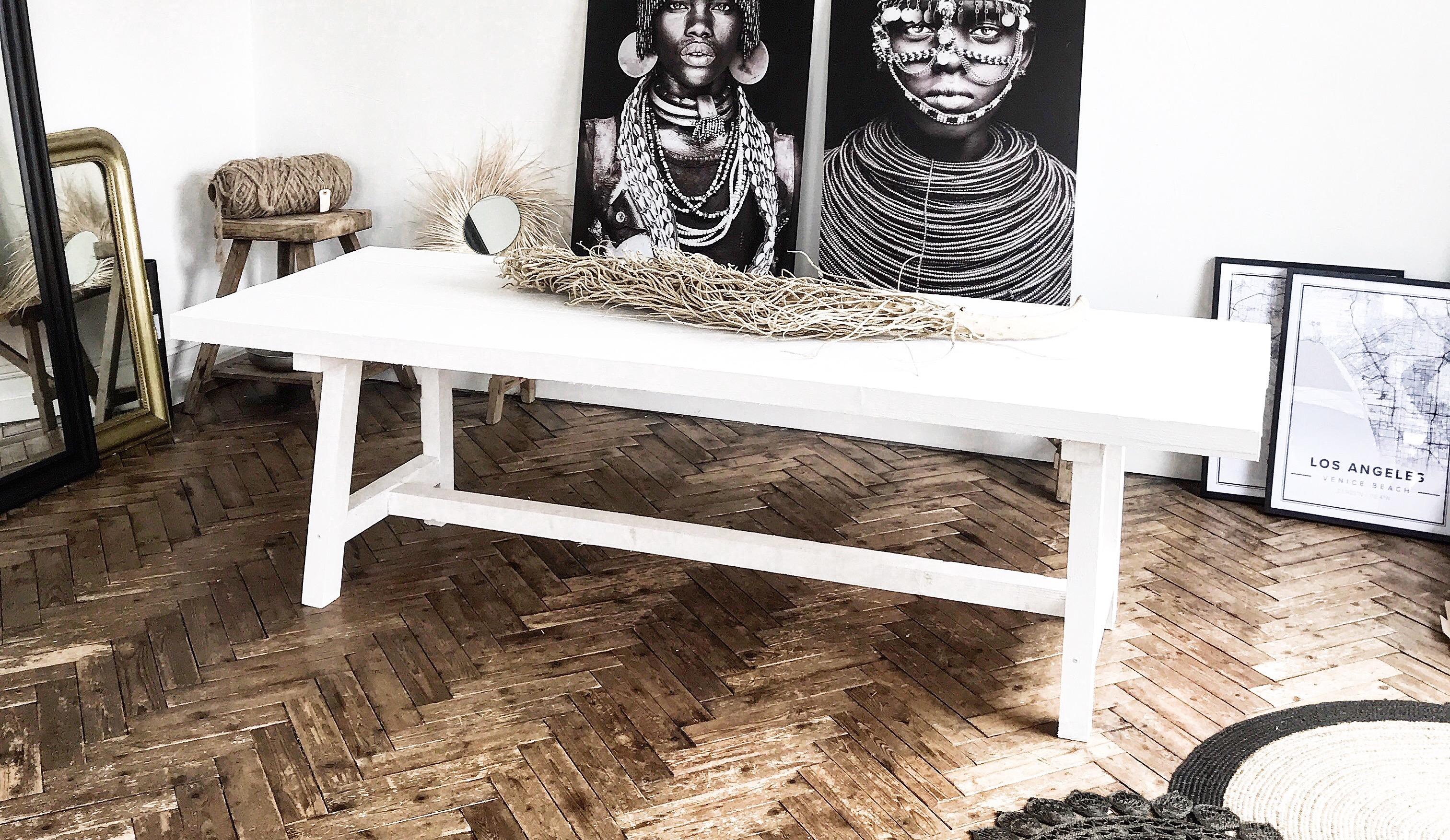 Faire Sa Peinture Extérieure Soi Même diy - comment fabriquer une table en bois robuste avec un